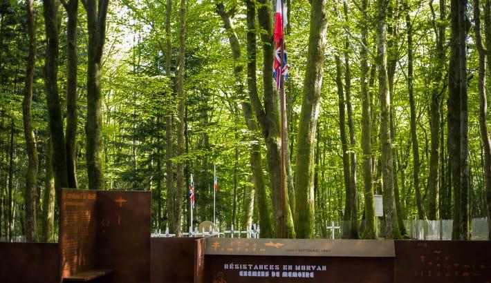 Cimetière militaire à Coeuzon
