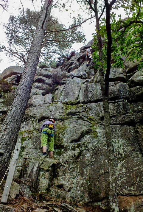 Le Rocher du Chien à Dun-les-Places