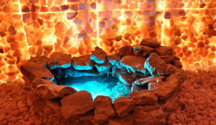 Expérience relaxation à la Cave de sel à Saint-Laurent-L'Abbaye