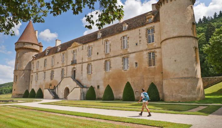 Promenade au Château de Bazoches
