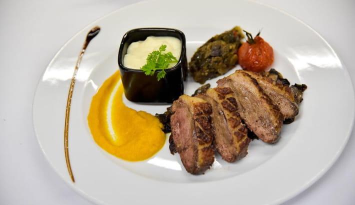 Assiette du restaurant O' Puits, Toque Nivernaise