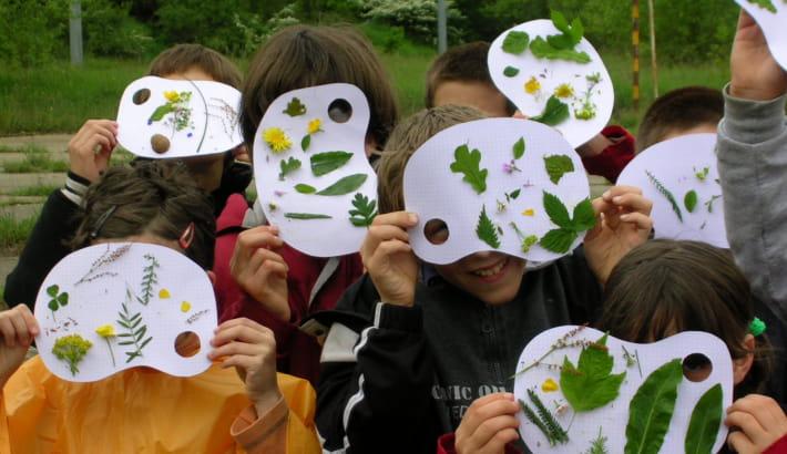 Atelier enfants au Pavillon du Milieu de Loire