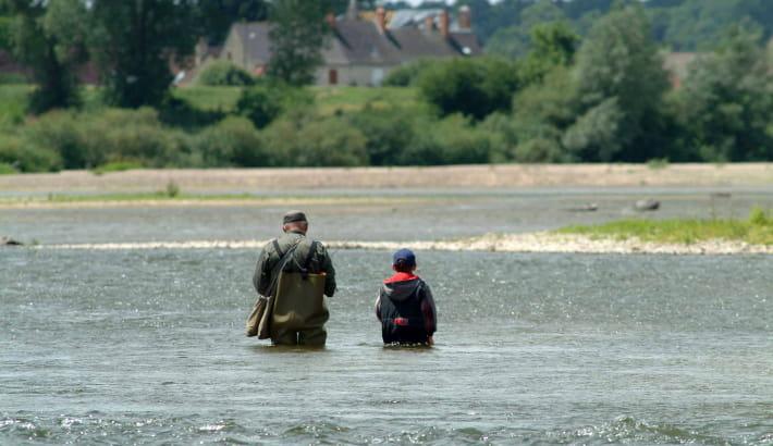 Pêche sur la Loire