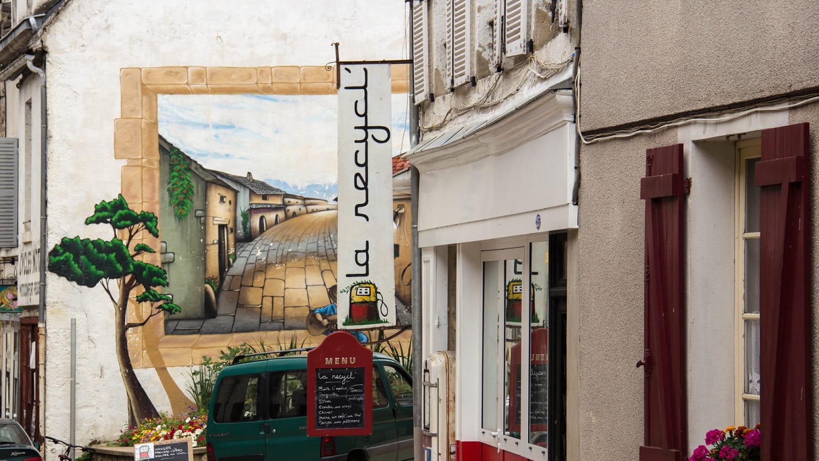 Centre-ville de Lormes