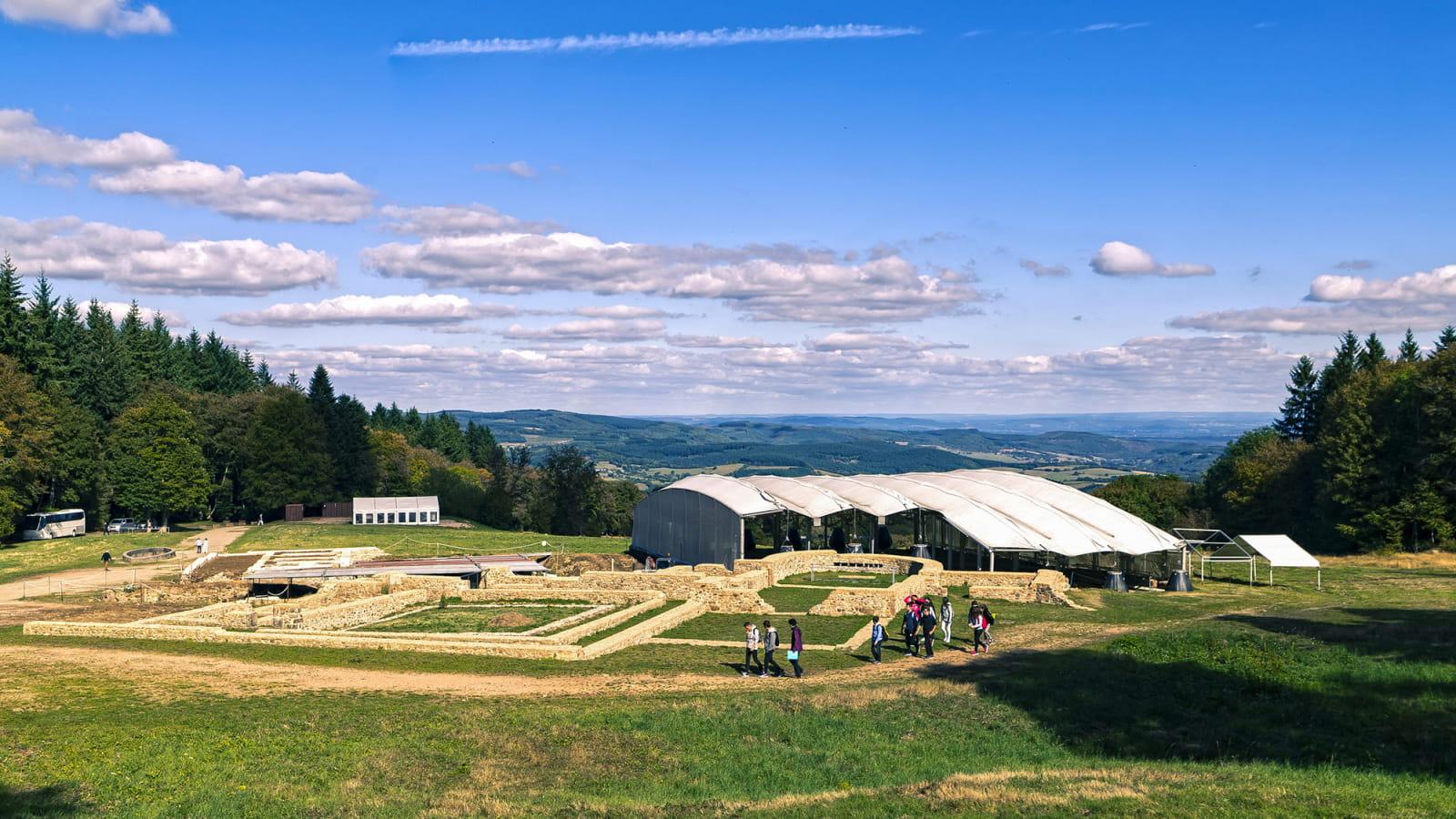 Site archélogique de Bibracte sur le Mont Beuvray