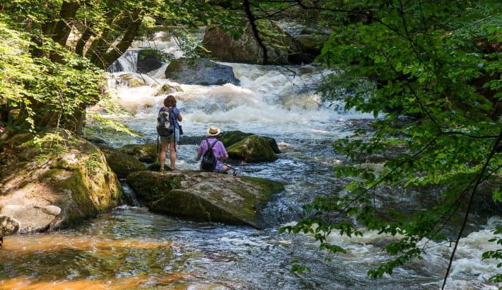 La rivière Le Chalaux