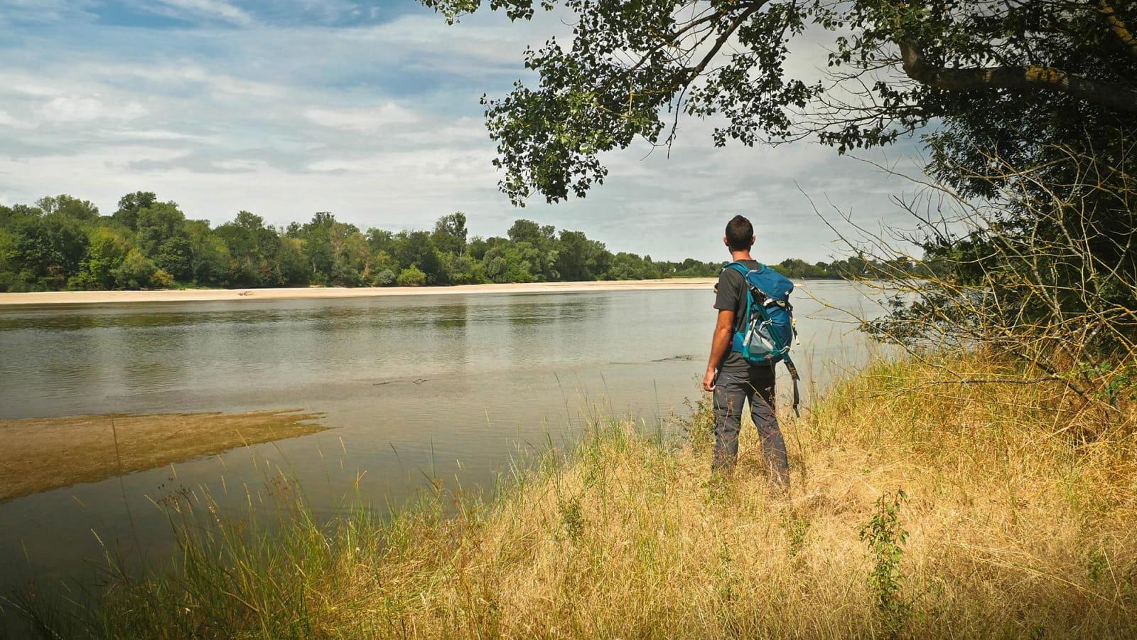 Randonnée dans la Réserve Naturelle du Val de Loire
