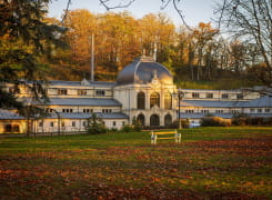 Saint-Honoré-les-Bains en automne