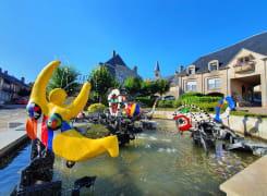 Fontaine Niki de saint phalle